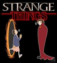 When stranger things meets doctor strange!