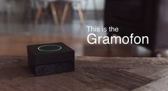 Gramofon modernizes the jukebox with cloud music streaming, and a partnership with  Facebook and Spotify for social music with social WiFi. | For more updates on Audio Electronics, follow Best Buy Portable Speakers (www.pinterest.com/bestbuyspeakers/)