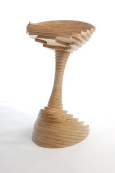 LumBar Stool by James Douglas Plywood Furniture, Furniture Design, Wood Stool, Wood Pieces, Cool Art, Awesome Art, Wood Design, Wood Crafts, Wood Projects