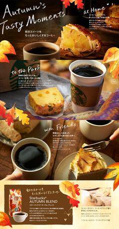 秋のスイーツをもっとおいしくするコーヒー もっと見る Food Menu Design, Food Poster Design, Restaurant Menu Design, Cafe Menu, Cafe Food, Drink Menu, Food And Drink, Brochure Food, Food Banner