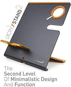 LXORY Stand and Phone Dock - 2 in 1 Duo Charging Station Compatible With All iPhone and Apple Watch Models Series - Aluminium Charger Holder Black-Orange) Desk Accesories, Office Accessories, Cell Phone Accessories, Laptop Table For Bed, Promotion Display, Wooden Display Stand, Corporate Giveaways, Charger Holder, Cell Phone Stand