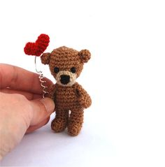 Hey, I found this really awesome Etsy listing at https://www.etsy.com/listing/175480330/bear-miniature-bear-tiny-crocheted-bear