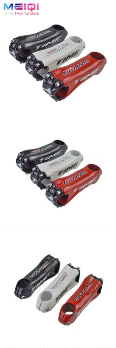 [Visit to Buy] New Time 31.8mm Full Carbon Fiber Bicycle Stem Road Carbon Stem Bicycle Parts Red Black White Ud Gloosy 80/90/100/110/120mm #Advertisement