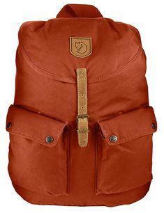 Fjällräven Greenland Backpack - made with G1000, a waxable cotton & polyester cloth #swedentravel