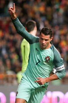 Cristiano Ronaldo for Portugal. Real Madrid