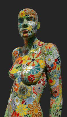 Paul Siggins contemporary mosaic.