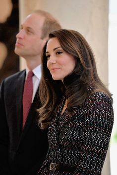 Catherine, Duchess of Cambridge visits Les Invalides military hospital during an official two-day visit to Paris on March 18, 2017 in Paris, France