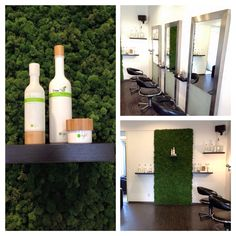 Green O'right Friseur Salon in Holland 🌿💇 Salons, Holland, Wine, Bottle, Drinks, Barbershop, Lounges, Flask, Netherlands