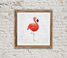 ANIMAL PRINT: FLAMINGO Flamingo Print Flamingo by SITMPrintables