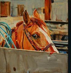 """Self portrait as Ropers Horse"" - Originals - All Artwork - Sophy Brown | Fine Art World"