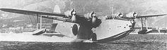 "A Kawanishi H8K Type 2 ""Emily"" flying boat."