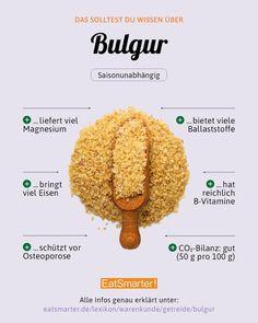 eatsmarter_deBULGUR Habt ihr schon mal Bulgur gegessen oder greift ihr lieber zu Couscous?