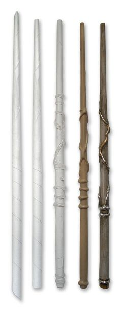 Just made one of these at my desk.   Harry Potter Wands DIY