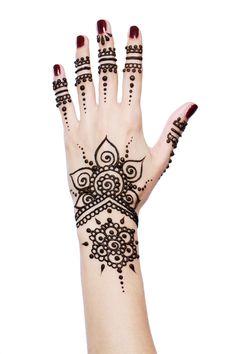 Great Henna Hand desingn