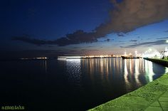 Thessaloniki by night Thessaloniki, My Photos, River, Explore, Night, Outdoor, Outdoors, Outdoor Games, The Great Outdoors