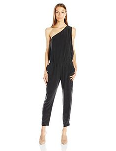 7cd665e7b25 Joie Womens Cassia Jumpsuit Vintage Caviar M    Check out the image by  visiting the