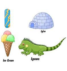 I alphabet vector Zebra Cartoon, Cartoon Whale, Penguin Cartoon, Horse Cartoon, Cartoon Elephant, Cartoon Kids, Bubble Alphabet, V Alphabet, Animal Alphabet