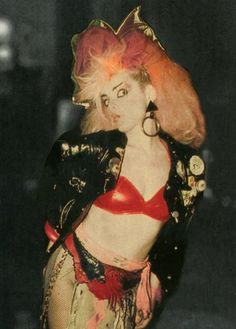 Nina Hagen, 80s Goth, Punk Goth, Alaska, Riot Grrrl, New Romantics, Club Kids, Berlin, Art Graphique