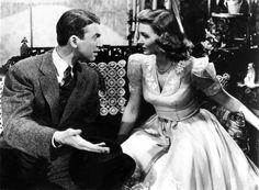 Sometimes I wish I lived in the 40s... Love George Bailey's and Mary Hatch's outfits in this movie.