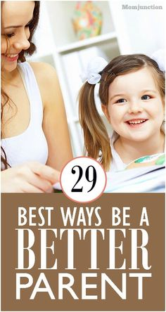29 Tips On How To Be A Good Parent: Try our 29 best #parenting tips on how to become a good parent which could go a long way.