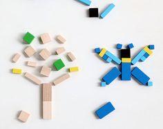 Mini Cubes | Mon Petit Art