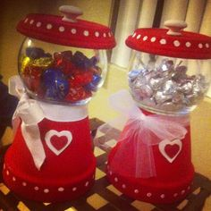 Gumball machines for valentines