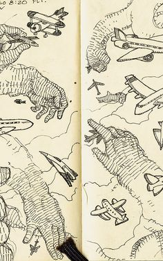 8 | A Look Inside The Sketchbooks Of 10 Terrific Creatives | Co.Design | business + design.John Hendrix