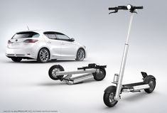 JAC< personal electric scooter by LEEV mobility