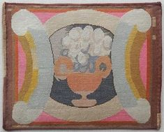 Seat cover, c.1920, designed by Vanessa Bell and