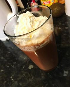 Eating healthy doesnt have to be boring its all about substitution. Bulletproof hot cocoa Made with: Butter coconut oil raw cacao powder & sugar free syrup (Hazelnut) topped with whip cream#lowcarb #lowcarbdiet #hotchocolate #cacao #rawcacao #sugarfree #bulletproofcoffee #coconutoil #foodie #keto #ketosis #fiber #eatfattolosefat #cleaneating #healthyfats #lowcarbrecipes #weightloss #weightlossjourney #fitnessjourney #fitness #chocolate #lchf - Inspirational and Motivational Ketogenic Diet…