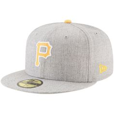 14731cb120a40b Pittsburgh Pirates New Era Hype 59FIFTY Fitted Hat – Heathered Gray