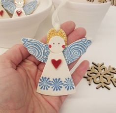 Ceramic Christmas Angel