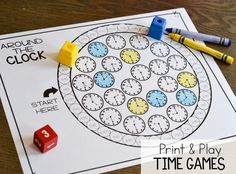 Measurement and Time Print & Play Games!