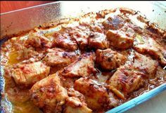 Chicken with feta cheese Cookbook Recipes, Cooking Recipes, Cream Cheese Chicken, Gluten Free Rice, Greek Recipes, Chicken Wings, Family Meals, Poultry, Feta