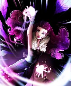 Ever After High by princeivythefirst on DeviantArt Cartoon Network, Ever After High Rebels, Kids Cartoon Characters, Monster High Art, After High School, Raven Queen, Queen Art, Cool Sketches, Comic Artist