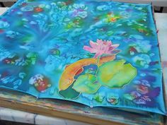 silk painting discover the secrets to silk painting while we create a ...