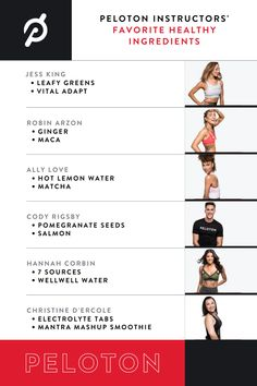 Peloton Instructors' Favorite Healthy Ingredients | Jess King, Robin Arzon, Ally Love, Cody Rigsby, Hannah Corbin and Christine D'Ercole share their favorite healthy ingredients Robin Arzon, Hot Lemon Water, Fight Or Flight, Chocolate Protein, Natural Detox, Homemade Facials, Healthy Lifestyle Tips, Boost Your Metabolism, Natural Sugar