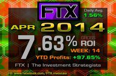 2014 - Week 14 Profits!