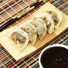 Steamed Veggie Dumplings for Richard