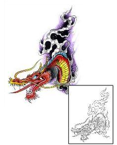 Dragon Tattoos G1F-00409 Created by Gary Davis