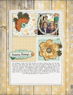 This layout by @ariellegordon is featured in the October issue of Spark magazine and uses a story starter from the #simplescrapper membership. . . . . #scrapbooking #memorykeeping #papercrafting #papercrafts #thedigitalpress