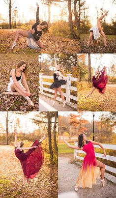 Allison Clarke Photography: Ballet and contemporary dance photos from fall mini sessions. Dance Senior Pictures, Dance Picture Poses, Dance Photo Shoot, Ballet Pictures, Poses Photo, Poses For Pictures, Dance Photos, Family Pictures, Contemporary Dance Poses