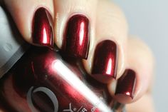 """Orly's """"Smolder"""" - Possibly the only red I've ever really liked."""