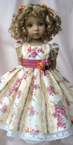 43 Ideas For Doll Reborn Girls American Girl Dress, American Doll Clothes, Girl Doll Clothes, Doll Clothes Patterns, Girl Dolls, Pretty Dolls, Cute Dolls, Beautiful Dolls, Kids Dress Wear