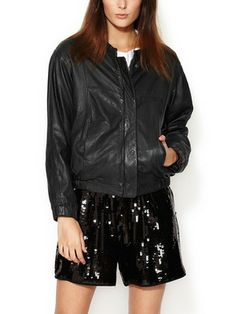 See by Chloé- Leather Jacket.