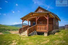 EXKLUZÍVNE: Zrubový dom s veľkou zastrešenou terasou v obci Brezovička, okres Sabinov