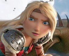The weirdest face that Astrid can make<<<<and she still looks beautiful How To Train Dragon, How To Train Your, Dreamworks Dragons, Disney And Dreamworks, Night Fury Dragon, Dragon Names, Hiccup And Astrid, Httyd 3, Wtf Face