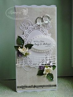 Wedding Tips & Ideas here - http://tips-wedding.com weding card