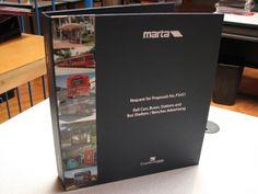 Hard GBC binder, laminated photo strip