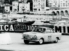 BMW 700S 1961 Monte Carlo Rallye